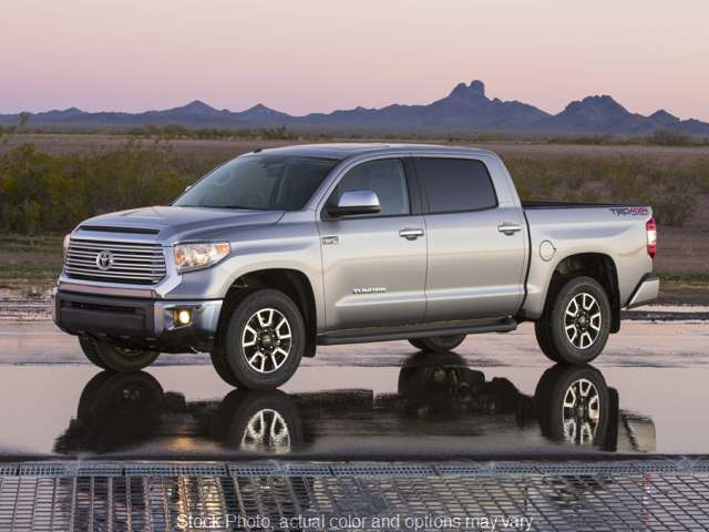 Used 2017  Toyota Tundra 4WD CrewMax Limited 5.7L FFV at The Gilstrap Family Dealerships near Easley, SC