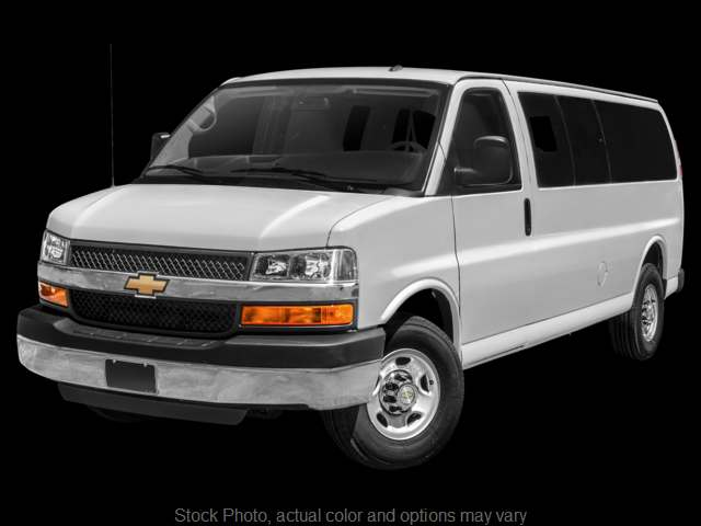 Used 2018  Chevrolet Express Wagon 3500 Ext Wagon LT at Ubersox Used Car Superstore near Monroe, WI