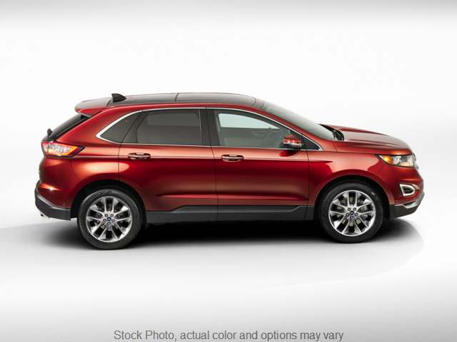 Used 2018  Ford Edge 4d SUV AWD Titanium EcoBoost at Graham Auto Group near Mansfield, OH