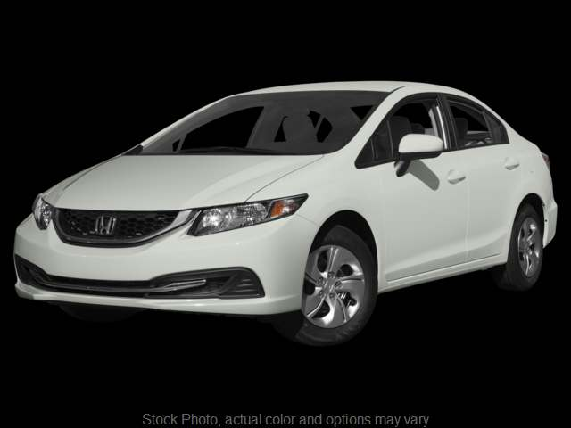 Used 2015  Honda Civic Sedan 4d LX CVT at Bobb Suzuki near Columbus, OH