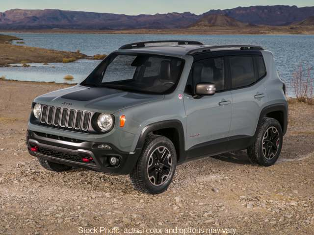 2018 Jeep Renegade 4d SUV 4WD Trailhawk at Kama'aina Motors near Hilo, HI