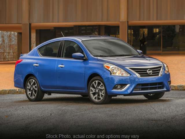 Used 2017  Nissan Versa 4d Sedan SV at Ubersox Used Car Superstore near Monroe, WI