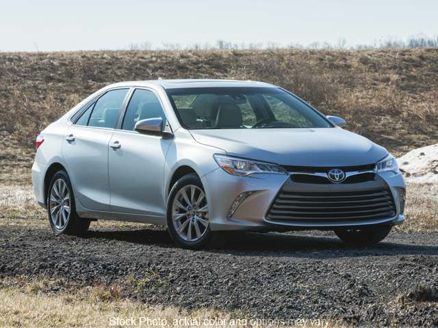 Used 2015  Toyota Camry 4d Sedan LE at Bobb Suzuki near Columbus, OH