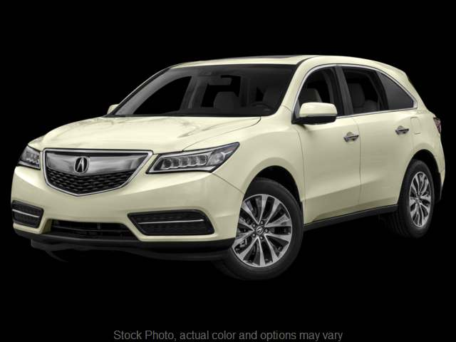 Used 2016  Acura MDX 4d SUV AWD Tech AcuraWatch Plus at Auto Sense near Salem, NH