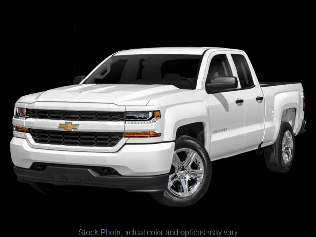 Used 2017  Chevrolet Silverado 1500 2WD Double Cab Custom at The Gilstrap Family Dealerships near Easley, SC
