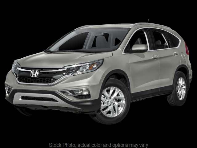 Used 2016  Honda CR-V 4d SUV AWD EX-L at Carmack Honda near Danville, IL