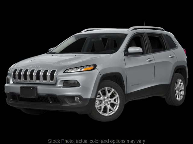 Used 2017  Jeep Cherokee 4d SUV 4WD Latitude I4 at Bobb Suzuki near Columbus, OH
