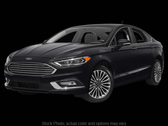 2017 Ford Fusion 4d Sedan Titanium at Graham Auto Group near Mansfield, OH