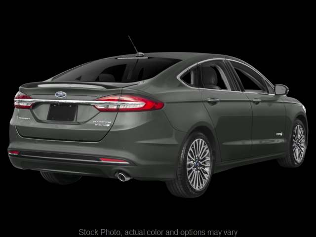 Used 2018  Ford Fusion Hybrid 4d Sedan Titanium at Mike Burkart Ford near Plymouth, WI