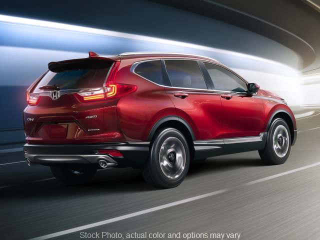 New 2019  Honda CR-V 4d SUV FWD EX at Carmack Honda near Danville, IL