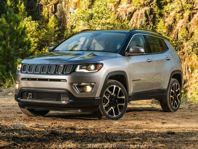 New 2020  Jeep Compass 4d SUV 4WD Trailhawk at Charbonneau Car Center near Dickinson, ND