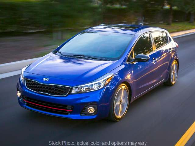 New 2018  Kia Forte5 5d Hatchback SX Premium Technology at Bedford Auto Giant near Bedford, OH