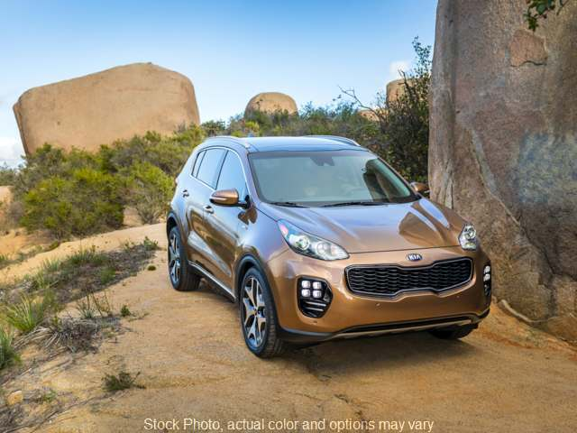 Used 2018  Kia Sportage 4d SUV AWD LX at C&H Auto Sales near Troy, AL