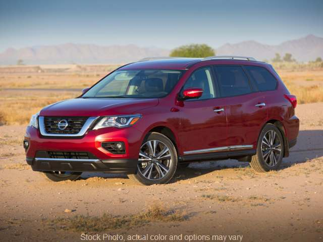 2019 Nissan Pathfinder 4d SUV FWD Platinum at Nissan of Paris near Paris, TN