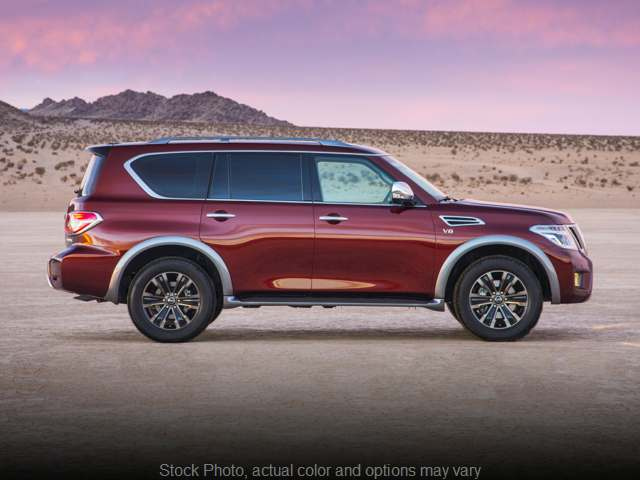 New 2019  Nissan Armada 4d SUV AWD Platinum at Kona Auto Center near Kailua Kona, HI