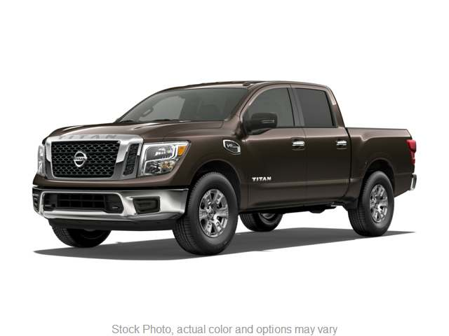 2017 Nissan Titan 4WD Crew Cab SV at Oxendale Auto Outlet near Winslow, AZ