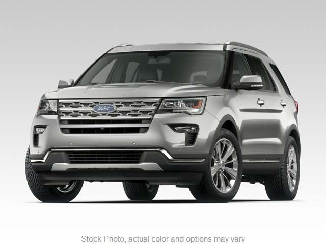 2018 Ford Explorer 4d SUV 4WD Limited at Graham Auto Group near Mansfield, OH