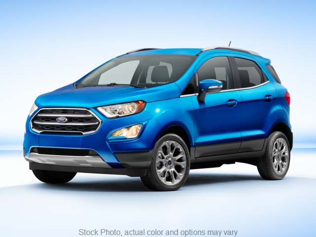 Used 2019  Ford EcoSport 4d SUV 4WD Titanium at Mahoney's Auto Mall near Potsdam, NY