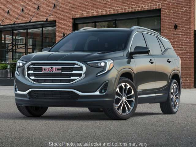 New 2020  GMC Terrain 4d SUV AWD SLT 2.0L Turbo at Charbonneau Car Center near Dickinson, ND