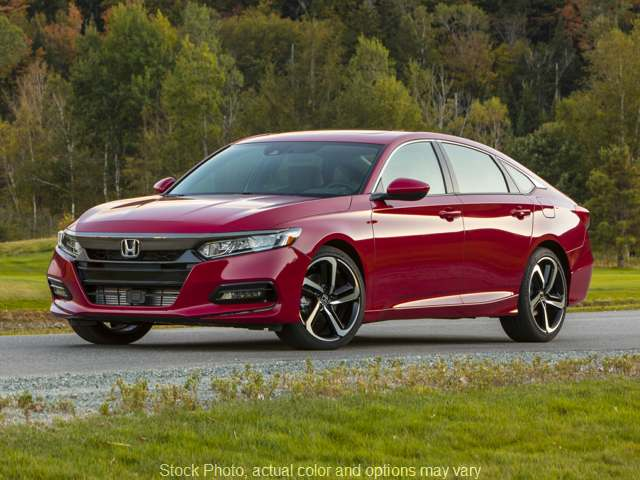 New 2020  Honda Accord Sedan 4d LX 1.5L at Carmack Honda near Danville, IL