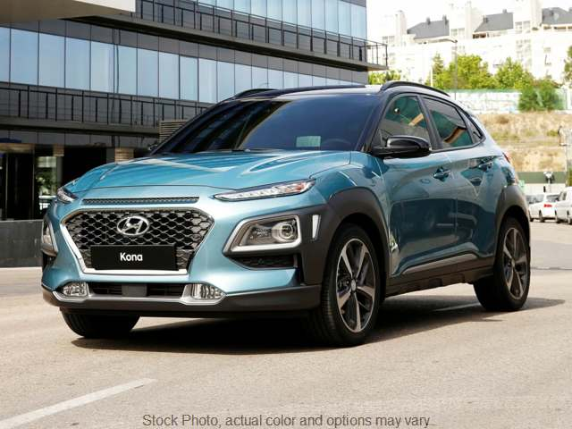 New 2019  Hyundai Kona 4d SUV AWD SEL at Carmack Car Capitol near Danville, IL