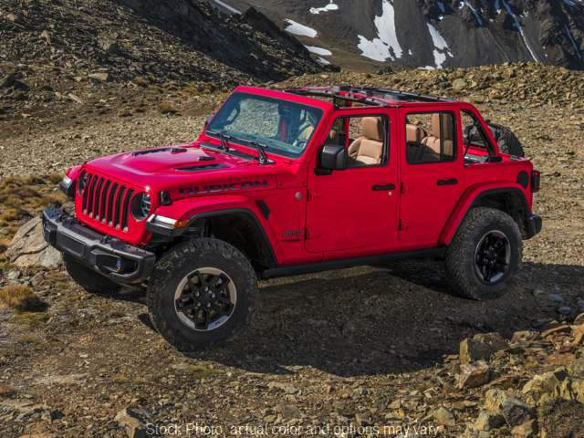 New 2020  Jeep Wrangler Unlimited 4d SUV 4WD Rubicon at Charbonneau Car Center near Dickinson, ND