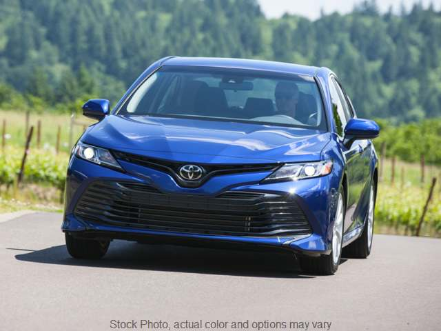2018 Toyota Camry 4d Sedan LE at C&H Auto Sales near Troy, AL