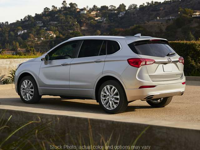 New 2019  Buick Envision 4d SUV AWD Essence at Charbonneau Car Center near Dickinson, ND