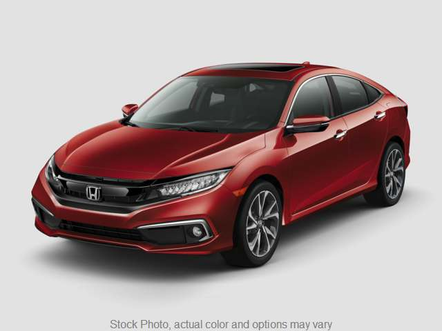 New 2019  Honda Civic Sedan 4d LX CVT at Carmack Car Capitol near Danville, IL
