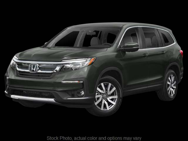 New 2019  Honda Pilot 4d SUV AWD EX at Carmack Car Capitol near Danville, IL