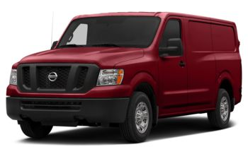 2017 Nissan NV Cargo NV1500 - Cayenne Red Metallic