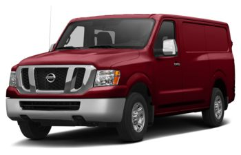 2018 Nissan NV Cargo NV2500 HD - Cayenne Red Metallic