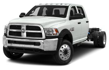 2018 RAM 4500 Chassis - Bright White