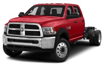 2018 RAM 4500 Chassis - Bright Red