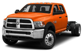 2018 RAM 5500 Chassis - Omaha Orange