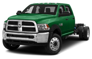 2018 RAM 4500 Chassis - Bright Green