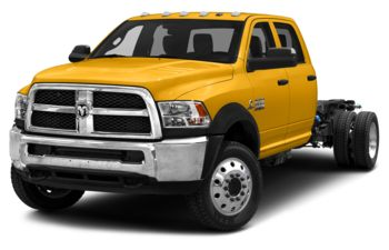2018 RAM 5500 Chassis - Construction Yellow