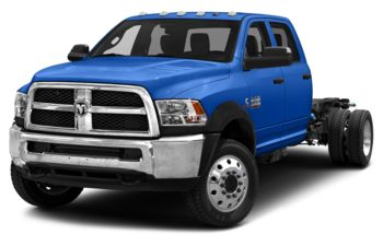 2018 RAM 3500 Chassis - New Holland Blue