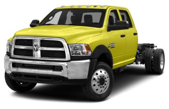 2018 RAM 3500 Chassis - National Safety Yellow