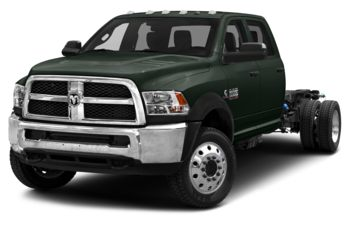 2018 RAM 5500 Chassis - Black Forest Green Pearl