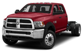 2018 RAM 4500 Chassis - Flame Red