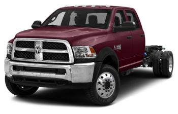 2018 RAM 4500 Chassis - Red Pearl