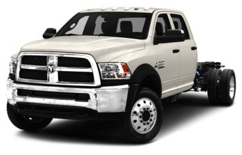 2018 RAM 4500 Chassis - Pearl White