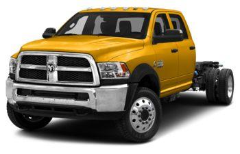 2018 RAM 3500 Chassis - Detonator Yellow