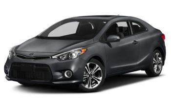 2017 Kia Forte Koup - Steel Blue Metallic