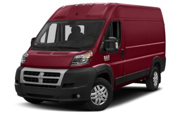 2017 RAM ProMaster 2500 - Deep Cherry Red Crystal Pearl