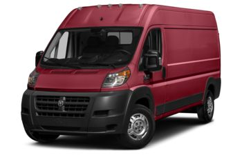 2018 RAM ProMaster 3500 - Deep Cherry Red Crystal Pearl