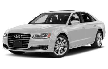 2018 Audi A8 - Glacier White Metallic