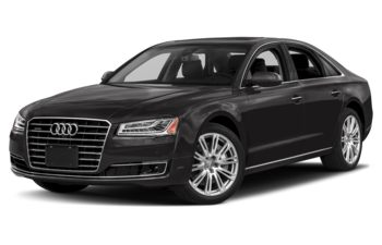 2018 Audi A8 - Oolong Grey Metallic