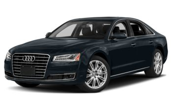 2018 Audi A8 - Moonlight Blue Metallic